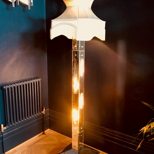 Large Art Deco Floor Lamp