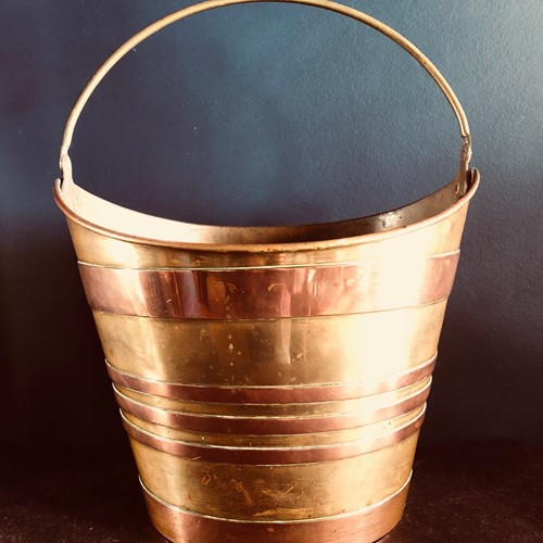 Antique French Oyster Bucket