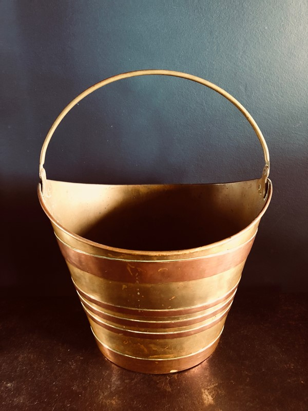Antique French Oyster Bucket-20th-century-filth-brass-bucket-2-main-636893581511397084.jpg