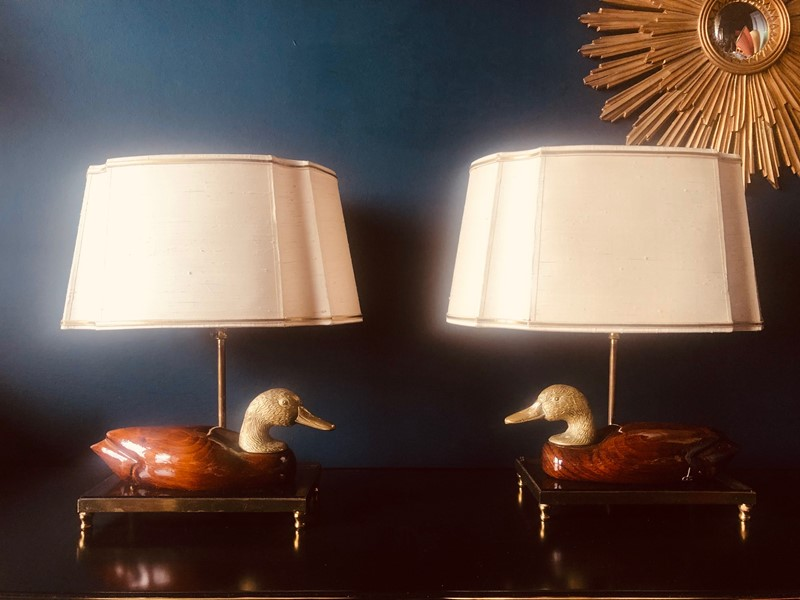 Pair of Italian Hand Carved Duck Lamps-20th-century-filth-duck-table-lamps-1-main-637420916271555680.jpg