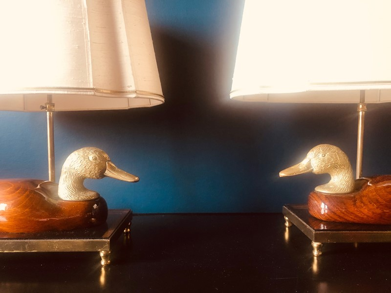 Pair of Italian Hand Carved Duck Lamps-20th-century-filth-duck-table-lamps-2-main-637420916644990449.jpg