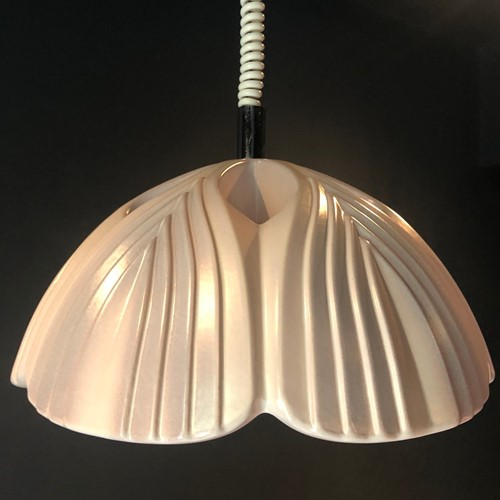 Pale Lilac Ceramic Pendant Light