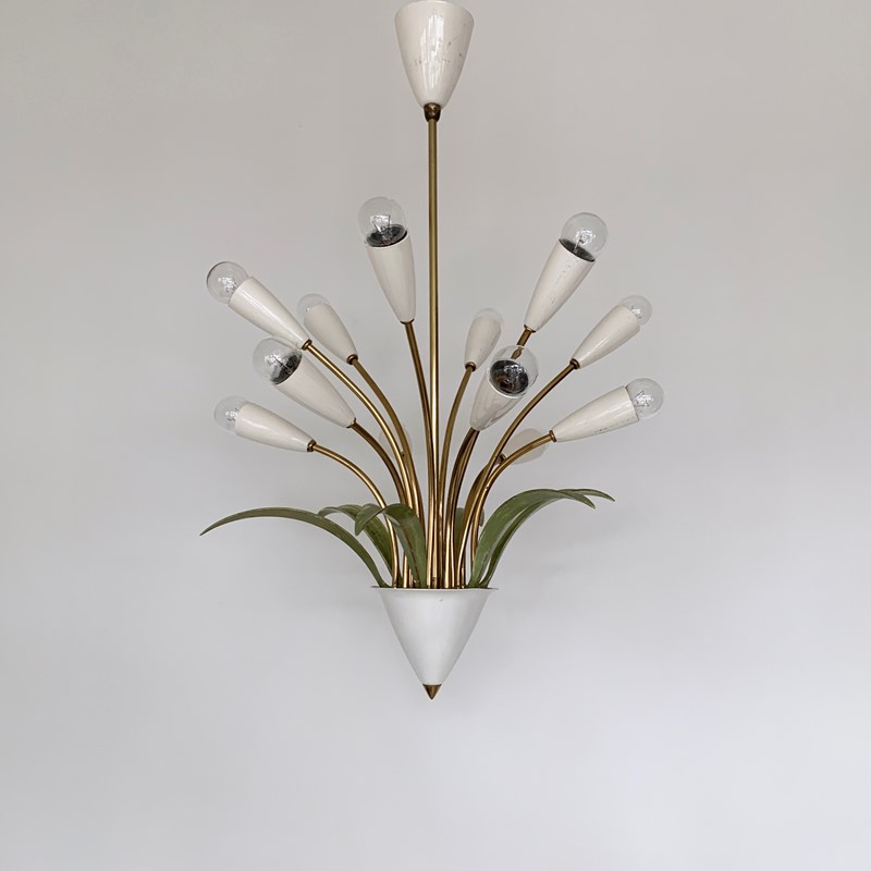 1950s Italian Toleware Chandelier-agapanthus-interiors-1950s-italian-brass-toleware-chandelier-main-637082160984292482.jpeg
