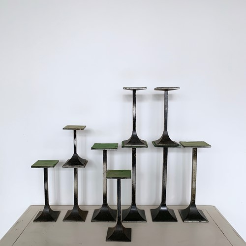 20th Century Steel Shop Display Stands