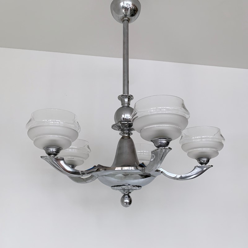 Art Deco Chromed Chandelier with Textured Shades-agapanthus-interiors-art-deco-chromed-chandelier-with-textured-glass-shades-8-main-637014824364987137.jpeg