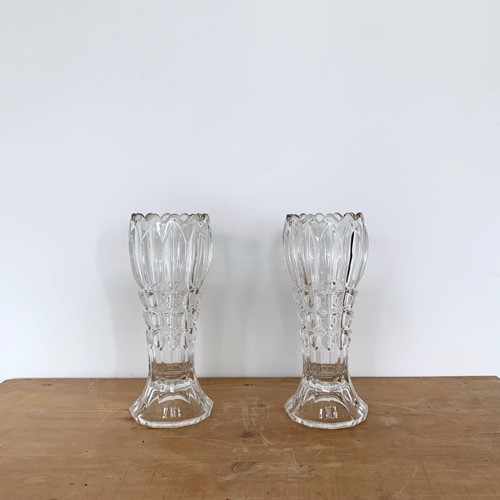Art Deco Crystal Vases