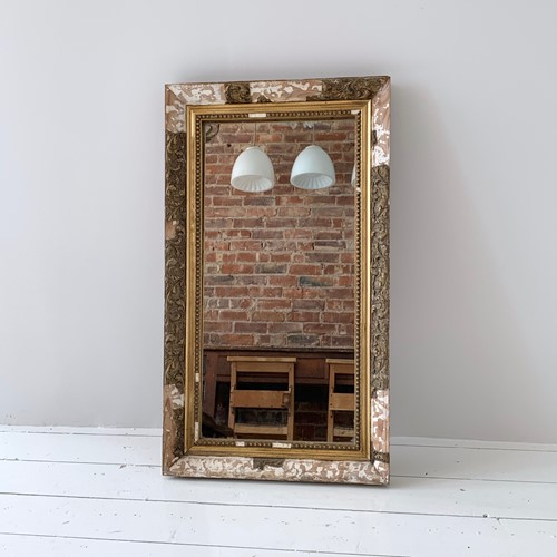 Distressed Frame Mirrored