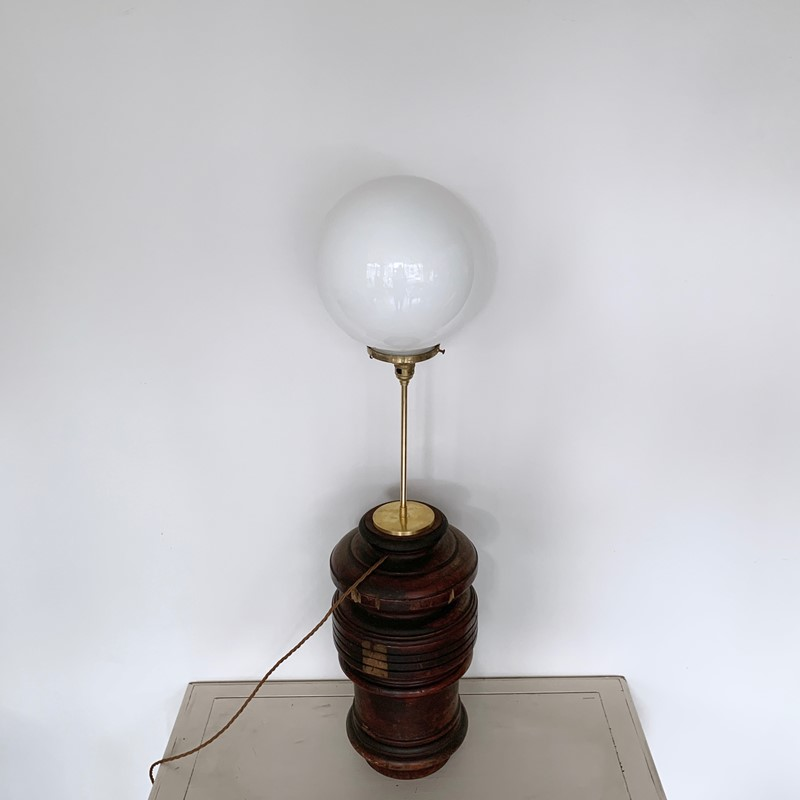 Large Turned Wood Lamp with Opaline Shade-agapanthus-interiors-large-turned-wood-lamp-with-brass-stem-and-opaline-shade-7-main-637082152437673297.jpeg
