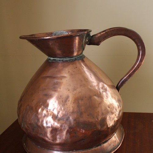 Victorian 2 Gallon Copper Jug