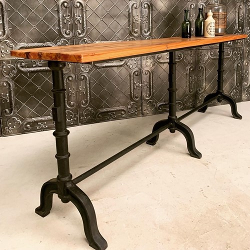 Camden industrial console table
