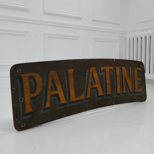 Sign Written Board - Palatine