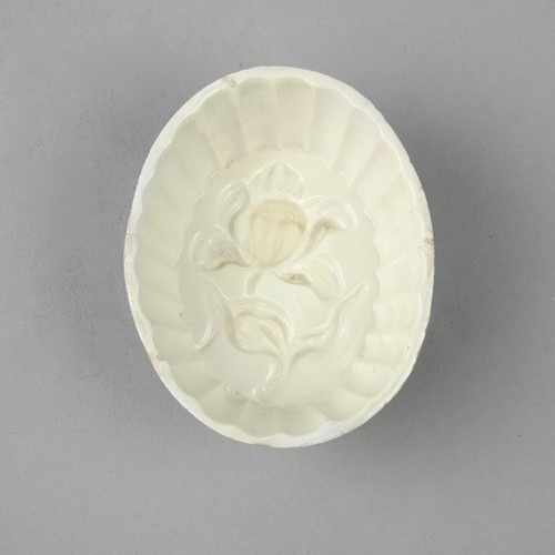 18th century, Creamware mould