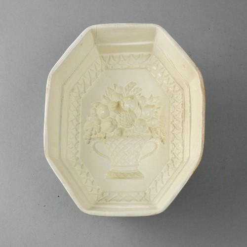 18th century 'basket of fruit' mould