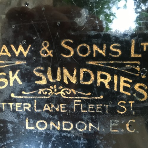 A charming office sundries tin