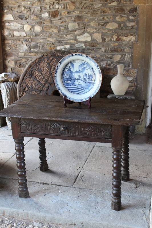Early !8th Century bobbin legged side table-archgothic-img-0387-main-637322279630865598.JPG