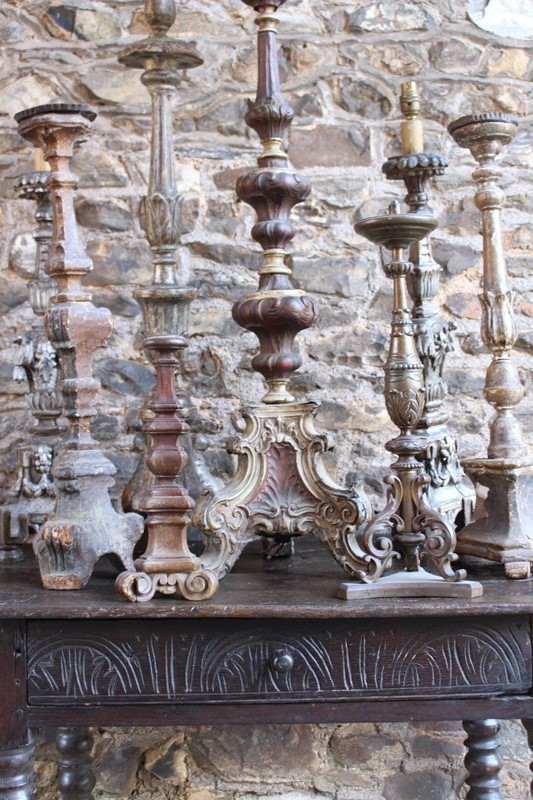 A collection of early pricket and candlesticks-archgothic-img-0408-main-637329362738347747.JPG
