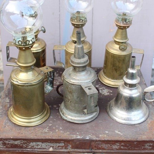 Group of French Lamps by Monsieur Pigeon