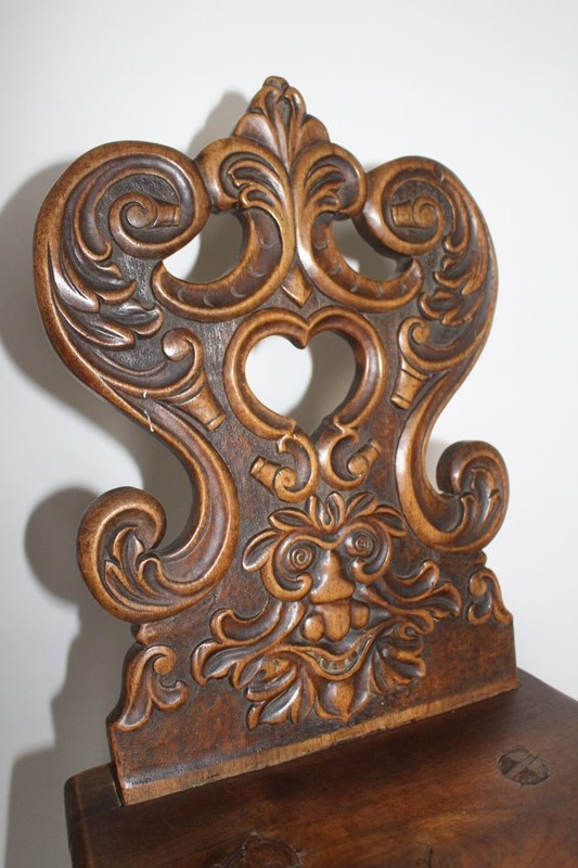 Carved walnut 'Green Man' folk chair-archgothic-img-7207-main-637116039305891885.JPG