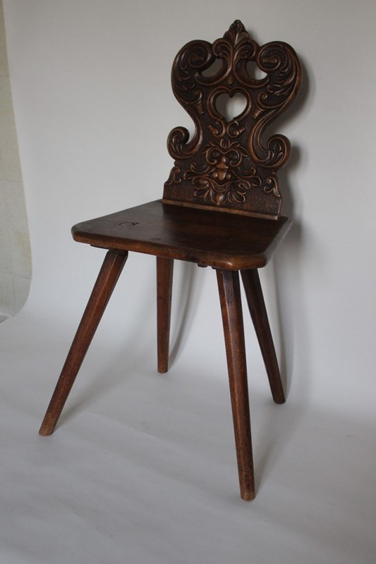 Carved walnut 'Green Man' folk chair-archgothic-img-7212-main-637116039330735446.JPG