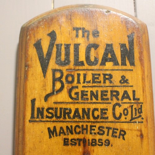 Thw Vulcan Boiler General Insurance thermometer