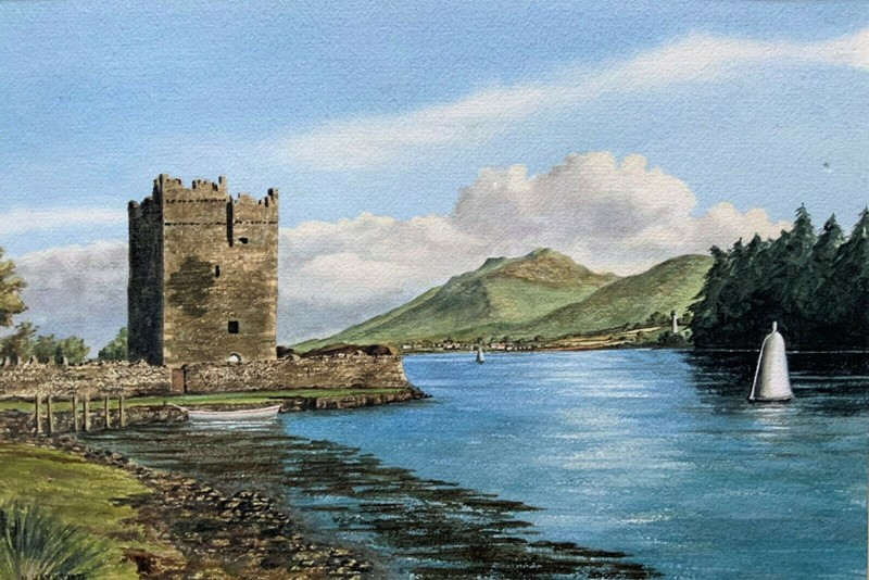 Carlingford castle landscape watercolour painting-artsonline-2-main-637382680031759716.jpg