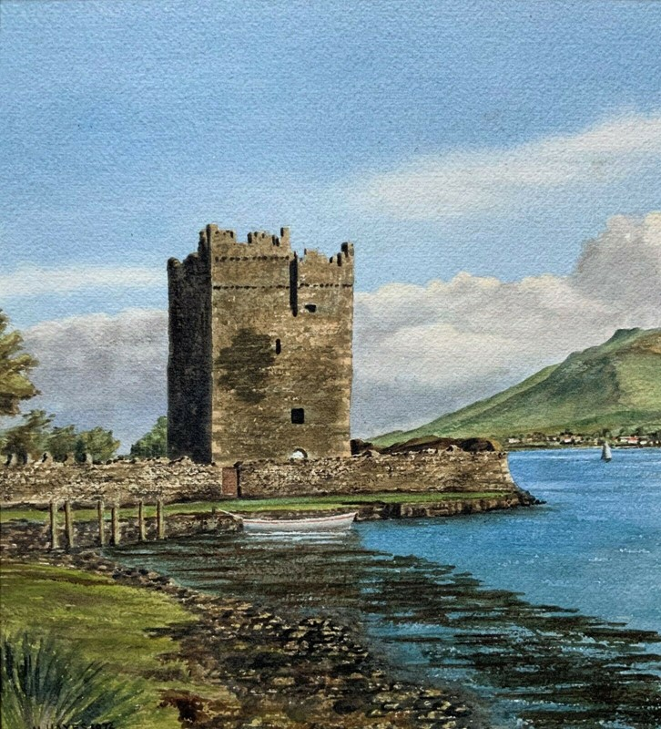Carlingford castle landscape watercolour painting-artsonline-3-main-637382680039572593.jpg