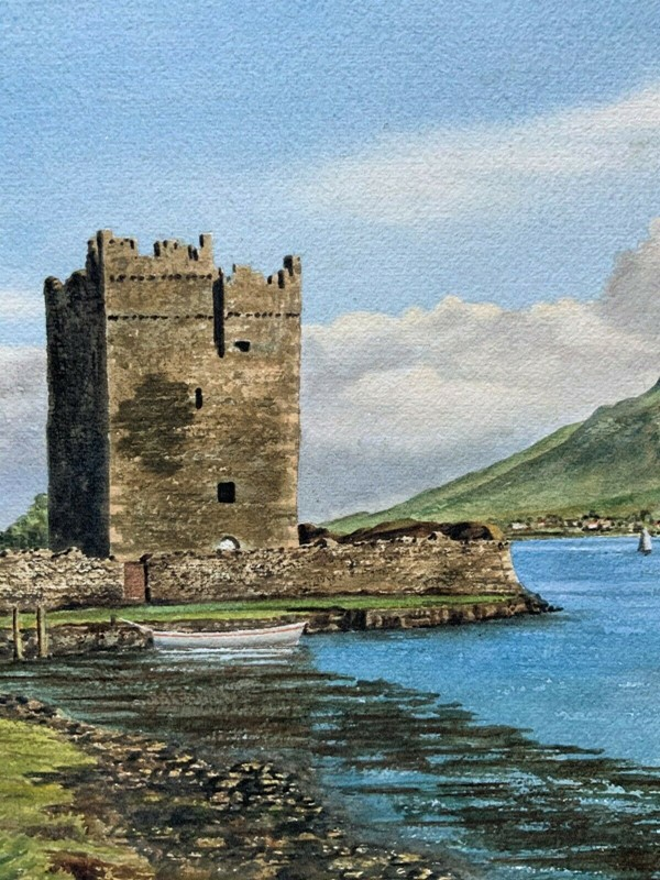 Carlingford castle landscape watercolour painting-artsonline-6-main-637382680060353948.jpg