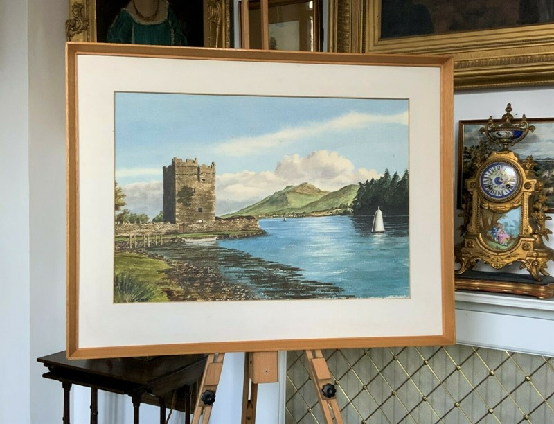 Carlingford castle landscape watercolour painting-artsonline-8-main-637382680078947627.jpg