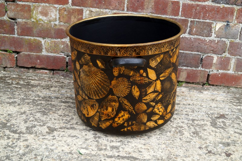 Shell Decorated Pot-arundel-eccentrics-Arundel Eccentrics antiques (107)-main-636649215546005486.jpg