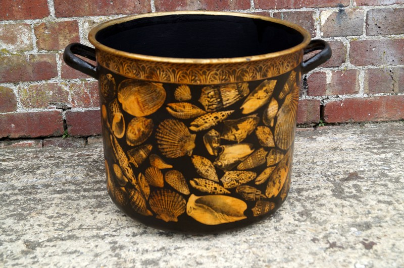 Shell Decorated Pot-arundel-eccentrics-Arundel Eccentrics antiques (111)-main-636649215601544334.jpg