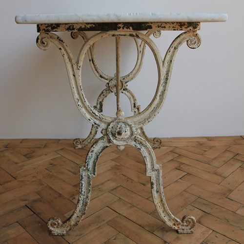 Marble top patisserie table