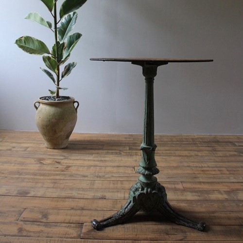 19th century bistro table
