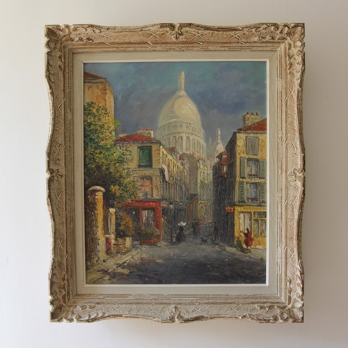 Painting Of Montmartre