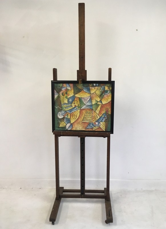 A Victorian oak artists easel by J Bryce Smith-august-interiors-010-main-636604426403068507.JPG