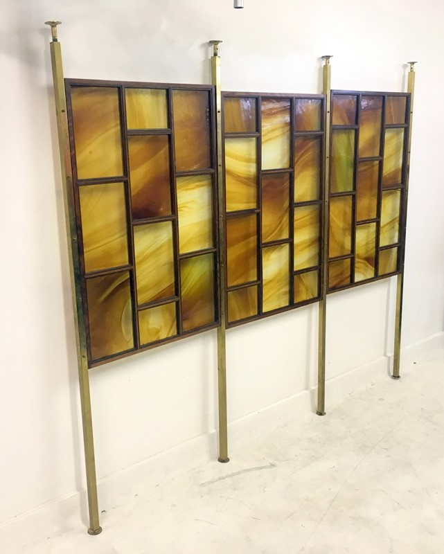 1960s Italian glass and rosewood wall panel screen-august-interiors-133-main-636936134676608493.JPG