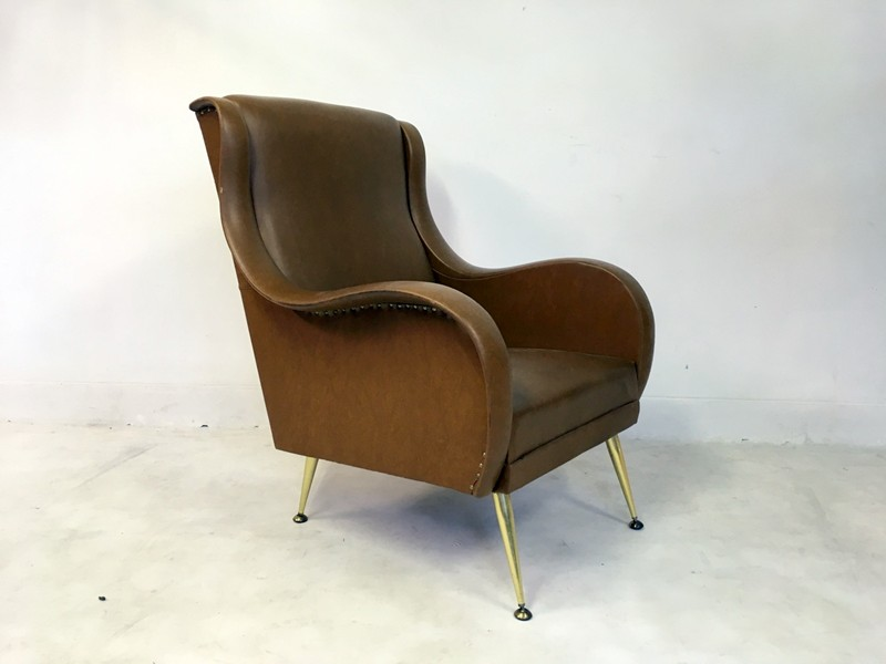 1960s Belgian armchair on metal legs-august-interiors-140-main-636655378888849658.JPG