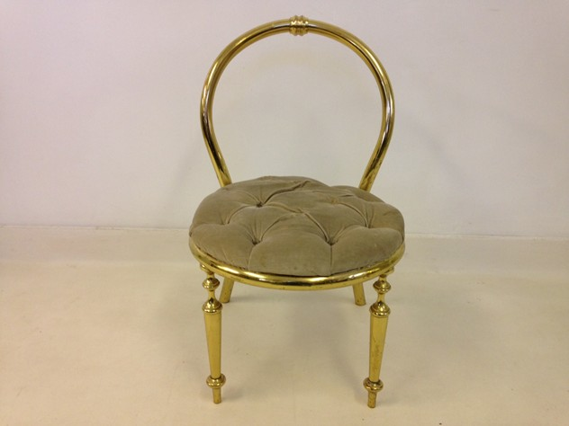 1970s brass chair-august-interiors-brass chair1_main.JPG