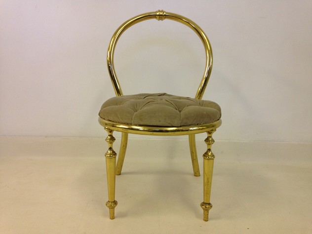 1970s brass chair-august-interiors-brass chair2_main.JPG