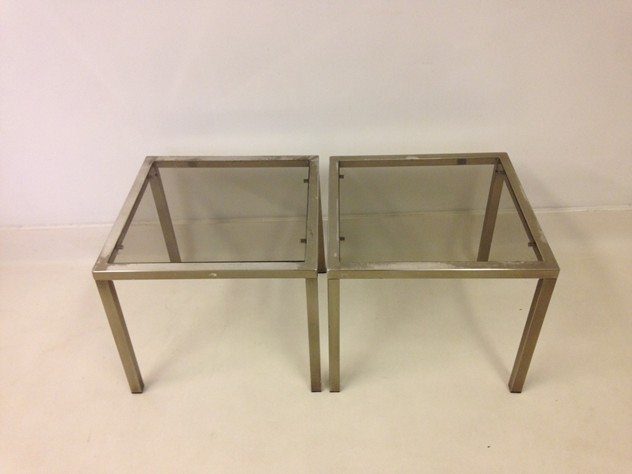 A pair of chrome side tables-august-interiors-chrome side tables3_main.jpeg