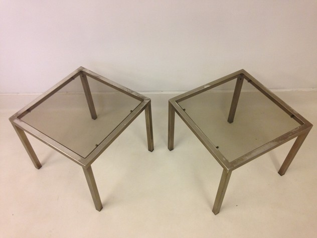 A pair of chrome side tables-august-interiors-chrome side tables_main.jpeg