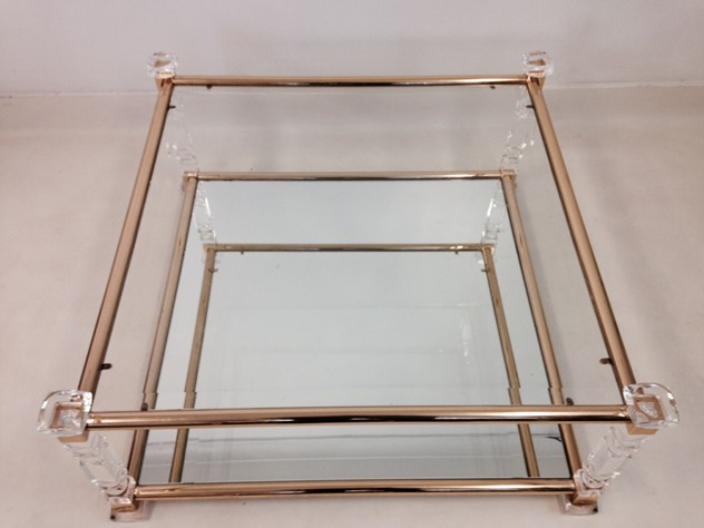 Acrylic and brass coffee table-august-interiors-cut lucite table3_main.jpeg