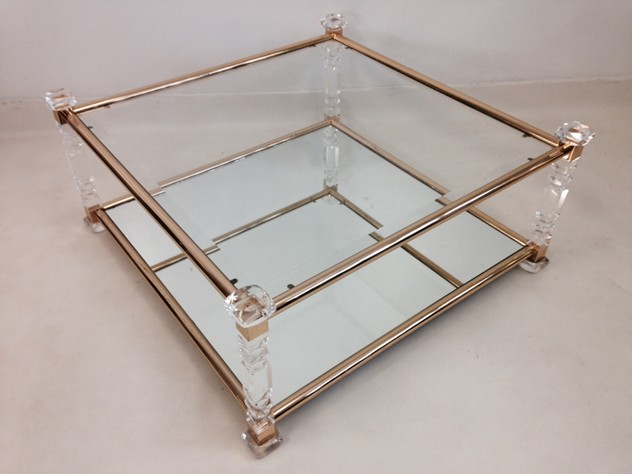 Acrylic and brass coffee table-august-interiors-cut lucite table4_main.jpeg