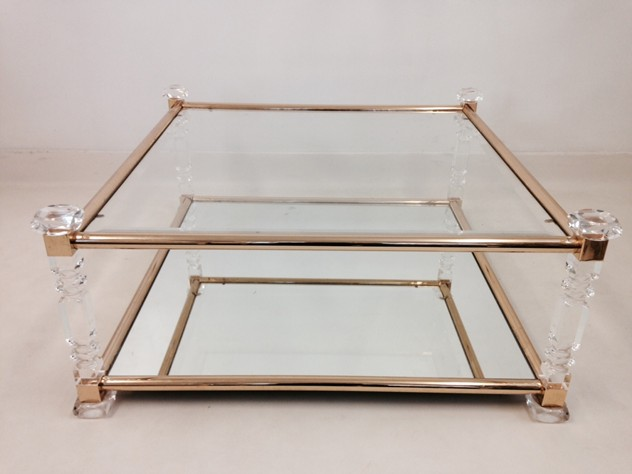Acrylic and brass coffee table-august-interiors-cut lucite2_main.jpeg