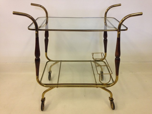 Italian brass and wood trolley-august-interiors-italian trolley1_main.JPG