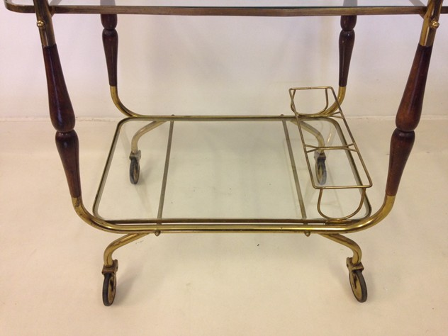 Italian brass and wood trolley-august-interiors-italian trolley2_main.JPG