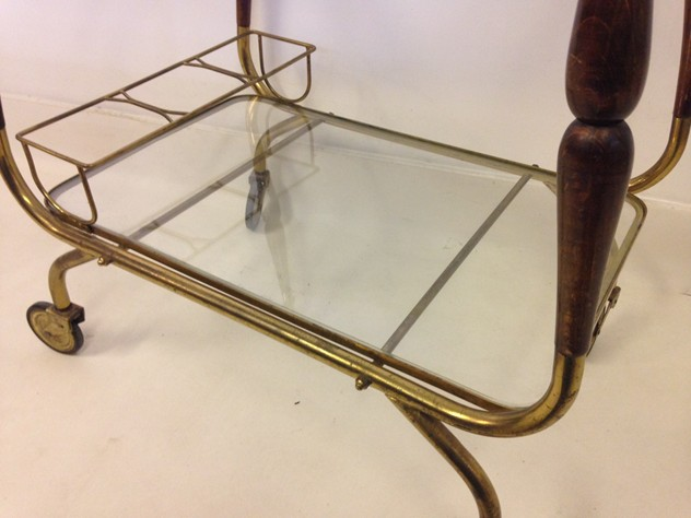 Italian brass and wood trolley-august-interiors-italian trolley3_main.JPG
