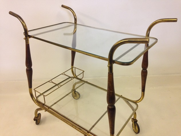 Italian brass and wood trolley-august-interiors-italian trolley4_main.JPG