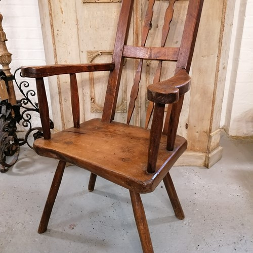 Fantastic 17th/18th C Period Chair