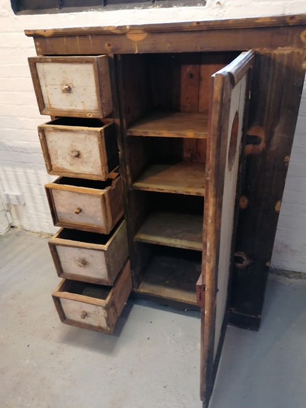 Excellent 19/20th C Folk Art Food Cupboard-b-and-r-antiques-img-20200522-125423-main-637260170705341057.jpg