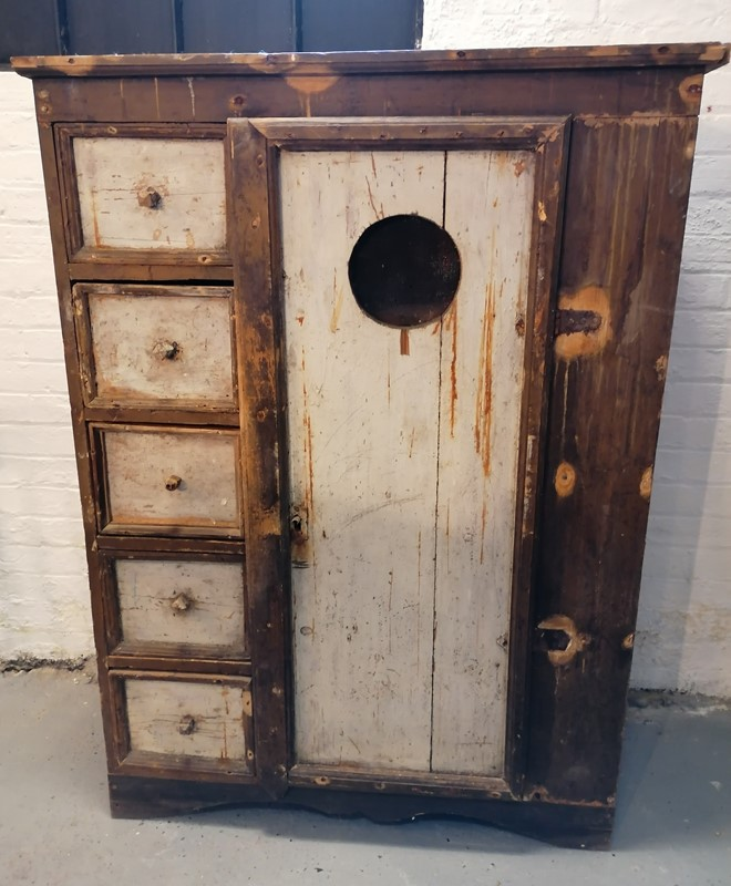 Excellent 19/20th C Folk Art Food Cupboard-b-and-r-antiques-img-20200522-220438-main-637260168041886556.jpg